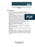 Act 1 Politicas de Aprovisionamiento, Produccion y Distribucion Logistica