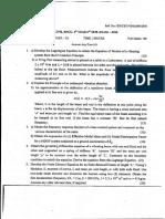 Structural Dynamics JU Civil 2016 Question