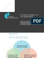 HR Conference 2015 - Cultural Diversity in Workplaces - Pino Migliorino