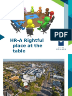 HR Conference 2015 - HR, A Rightful Place at the Table - Andi Diamond