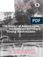 Impact of Racism on Young Australians
