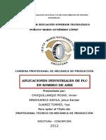 Titulo Aplicaciones PLC