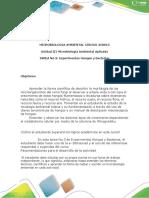 Guia Para El Desarrollo de La Tarea 3 Experimentos de Hongos y Bacterias.