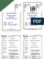 BUKU PROGRAM Buku Aturcara Majlis Tautan Mahabbah Copy