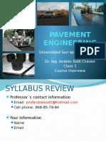 Pvmt Eng Class 01a Introduction