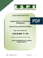 Ingles v Vi Study Guide