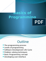 1 - Introduction to Programming