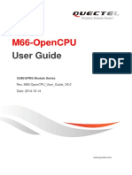 Quectel M66-OpenCPU User Guide V1.0