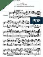 BWV11 - Lobet Gott in seinen Reichen [Himmelfahrts-Oratorium]