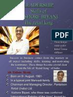 Kishore Biyani Leadership