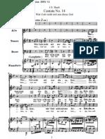 BWV14 - Wär Gott nicht mit uns diese Zeit
