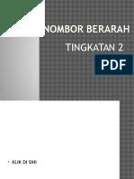 NOMBOR BERARAH T2