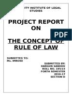 rule of law