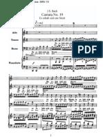 BWV19 - Es erhub sich ein Streit