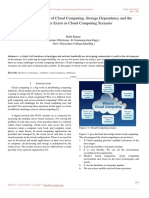 Study of Future View of Cloud Computing, Storage Dependency and the Challenges Exists in Cloud Computing Scenario