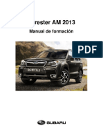 FORESTER AM 2013 Manual de Formación