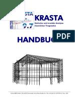 Krasta Manual Deutsch 9.7
