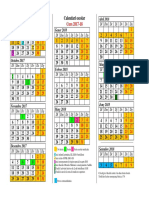 Resum Calendari Escolar 2017-18