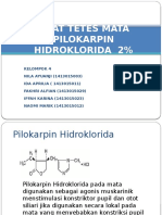 Obat Tetes Mata Pilokarpin Hidroklorida