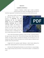 Zambonga Peninsula - A Detailed Guide