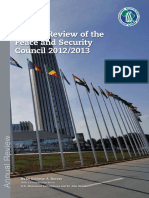 Annual Review PSC 2012-2013