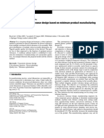 Concurrent Process Tolerance Design Based on Minimum Product Manufacturing Cost and Quality Loss