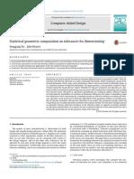 Statistical Geometric Computation on Tolerances for Dimensioning