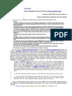 Consideraţii Asupra Dreptului La Apărare În Noul Cod de Procedură Civilă