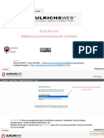 Guía Ulrichsweb