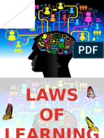 Law of Learning and Transfer of Learning