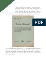 sejarah bibliografi