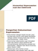 Model Dokumentasi Keperawatan Manual Dan Elektronik