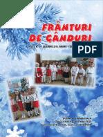 Revista FRÂNTURI DE GÂNDURI, Anul  III, Nr 10
