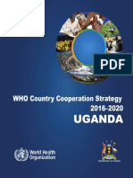 The 3rd WHO Country Cooperation Strategy in Uganda 2016-2020