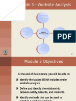 3 Worksite Analysis