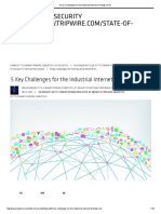 5 Key Challenges for the Industrial Internet of Things (IIoT)