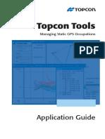 Proses Pengukuran statik GPS TopconTools