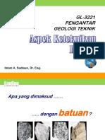 03Pdf Aspek Keteknikan Batuan Fisik