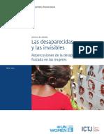 Las Desaparecidas y Las Invisibles Repercusiónes de La Desaparición Forzada en Las Mujeres