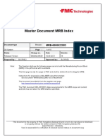 Master Document MRB Index Rev S