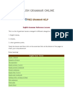 Learn English Grammar Online