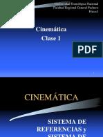 Cinematica Clase 1