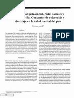 Asún, D. ( ) Intervención Psicosocial, Redes Sociales y Estilos de Vida