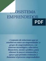 El Ecosistema Emprendedor, Mapa de Actores e Incubadoras