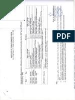Date Sheet for December 2016 Examination