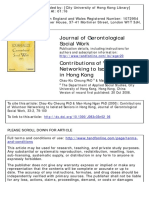 Contributions of Volunteer Networking to Isolated Seniors in Hong Kong