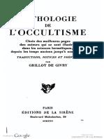Anthologie de l Esoterisme