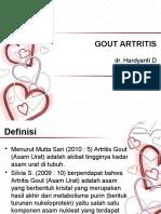 Gout Artritis fix
