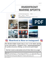 Riverfront Marine Sports Newsletter, May 2017