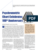 Psychrometrics History. ASHRAE Journal Oct-2004